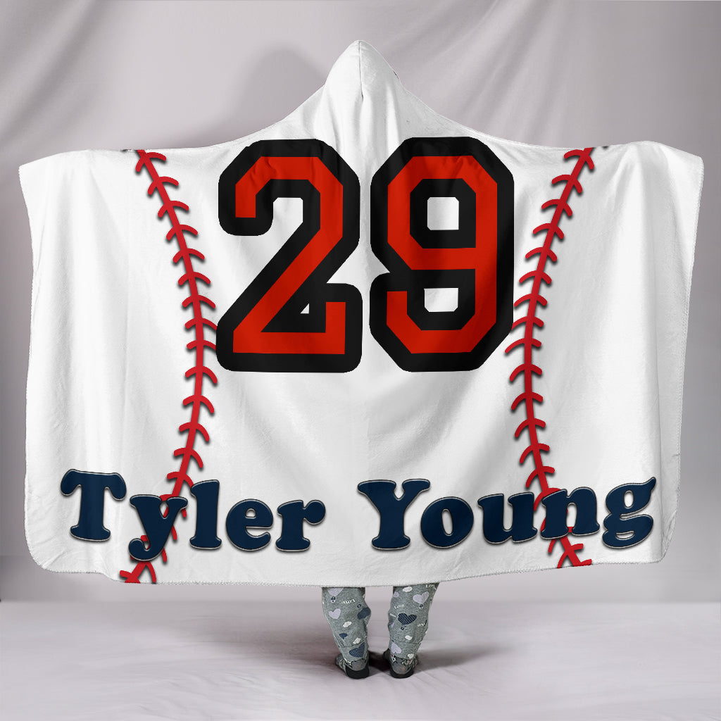 draft personalized hooded blanket 5436