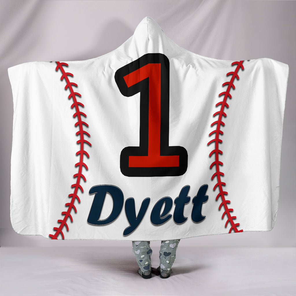 draft personalized hooded blanket 4623