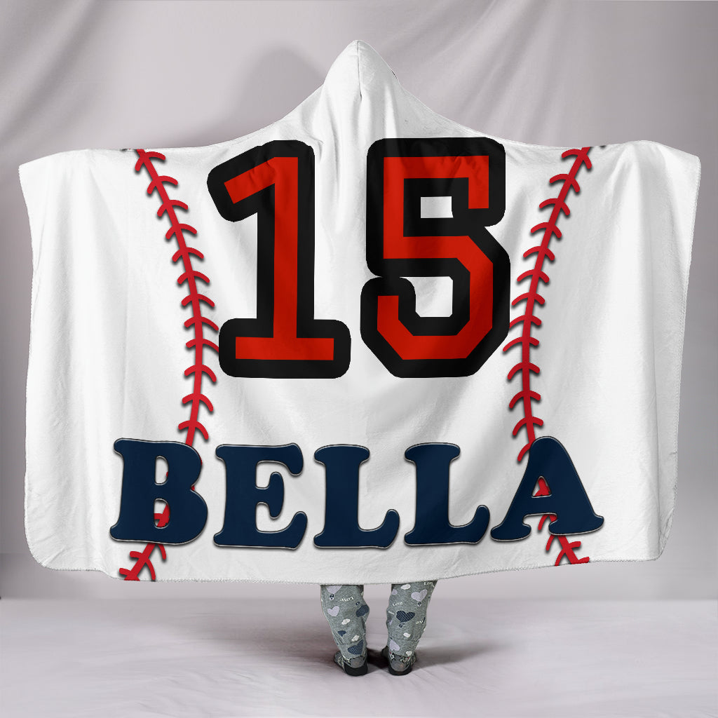 draft personalized hooded blanket 5213