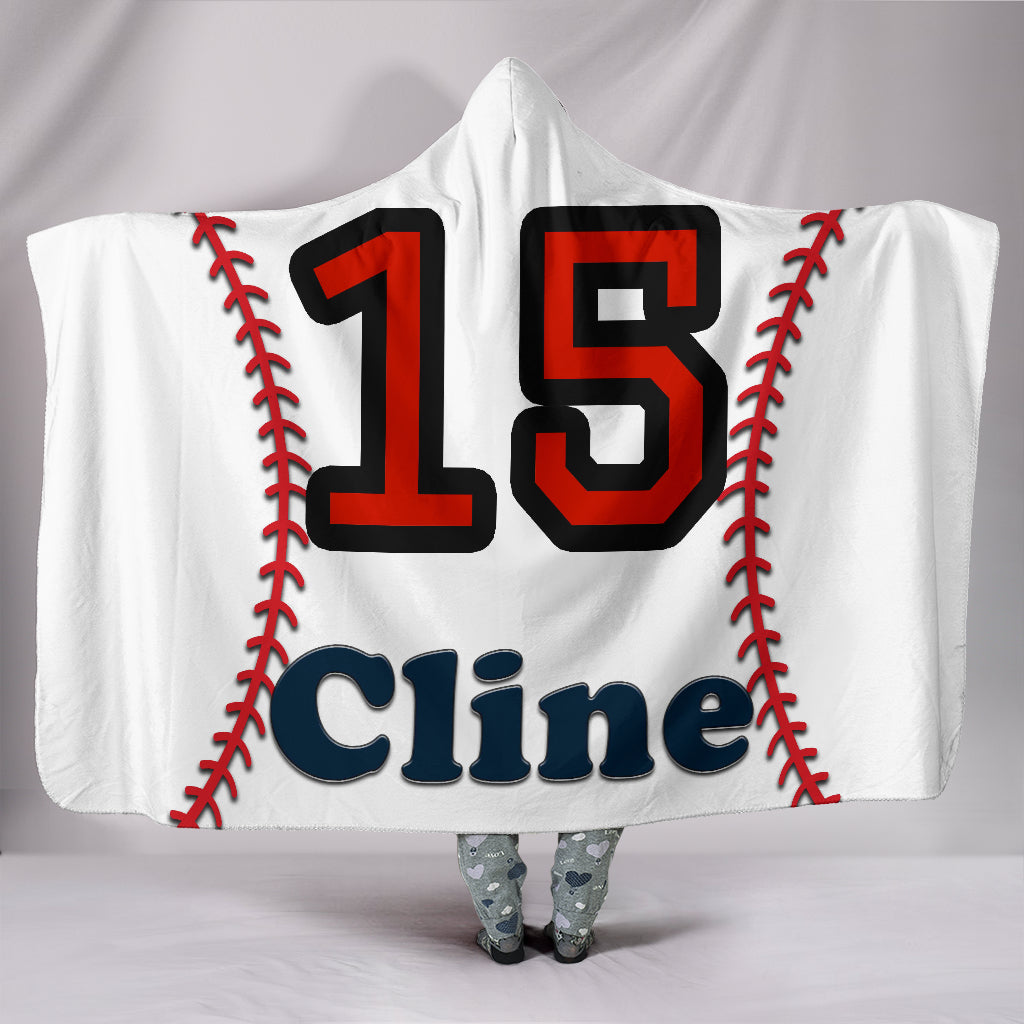 draft personalized hooded blanket 6830