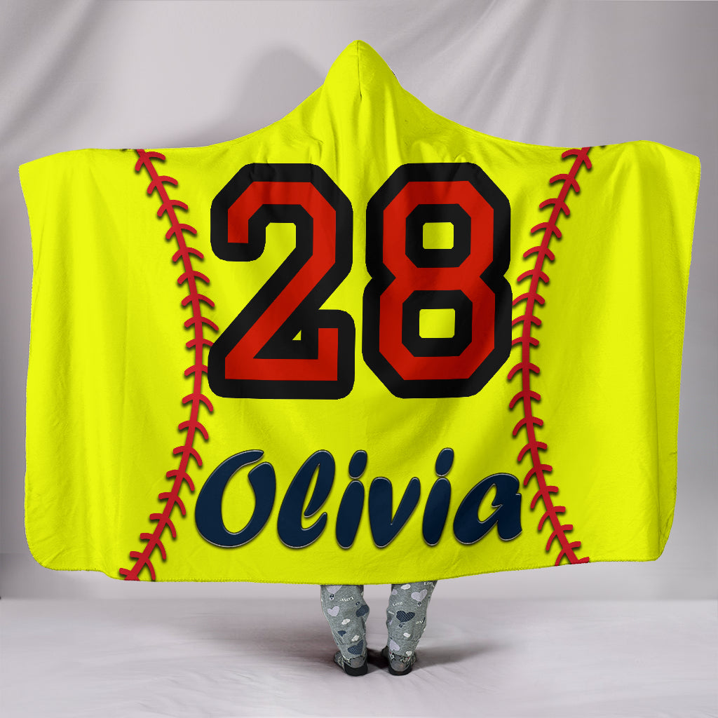 draft personalized hooded blanket 4482