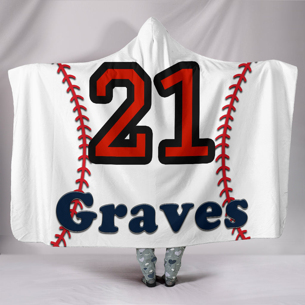 draft personalized hooded blanket 5591