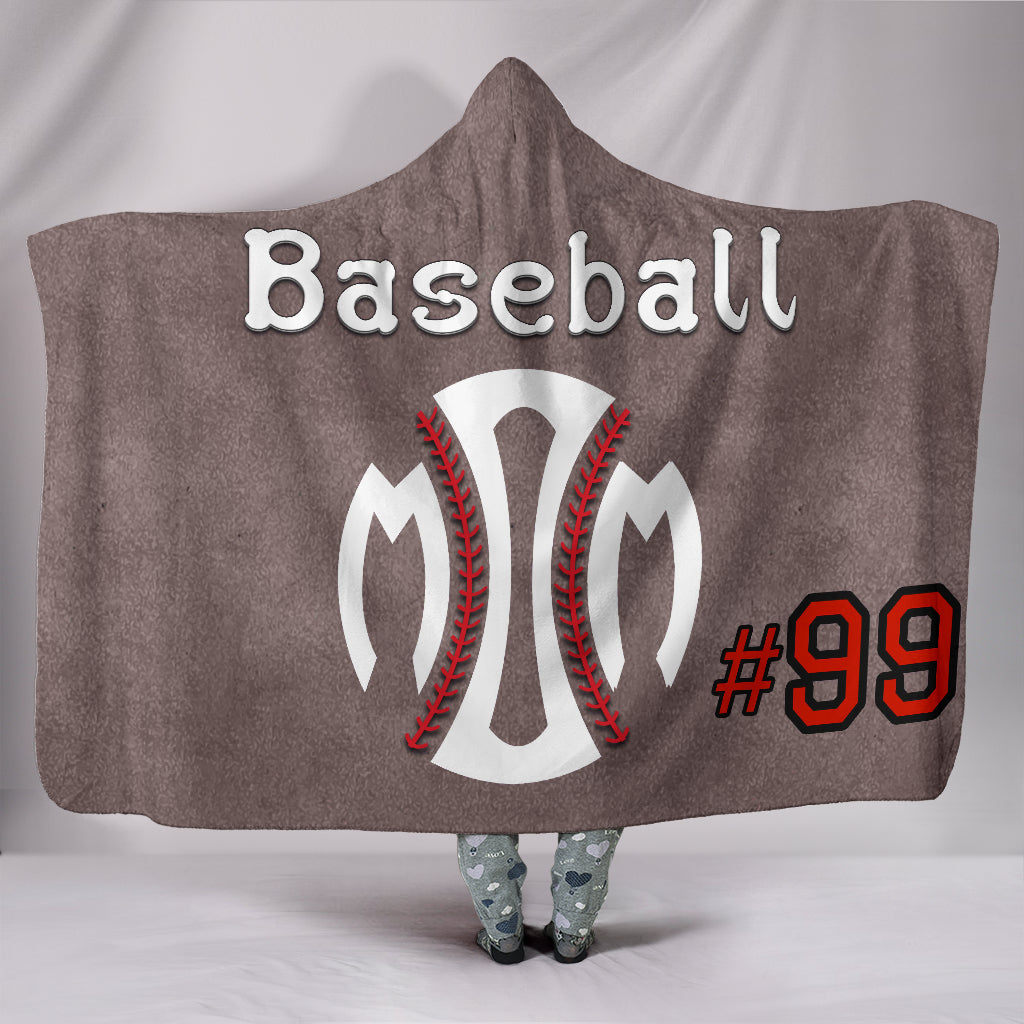 draft personalized hooded blanket 5341