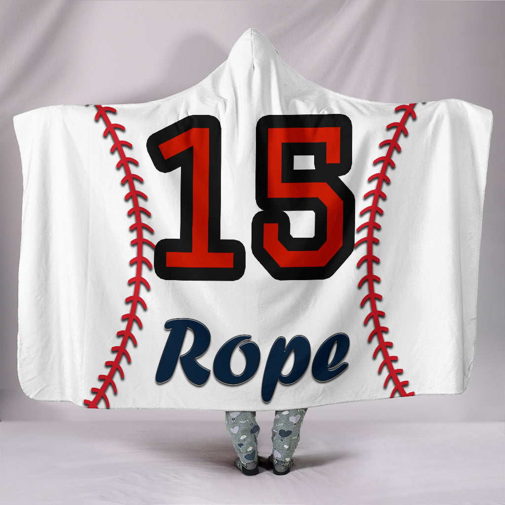 draft personalized hooded blanket 4442