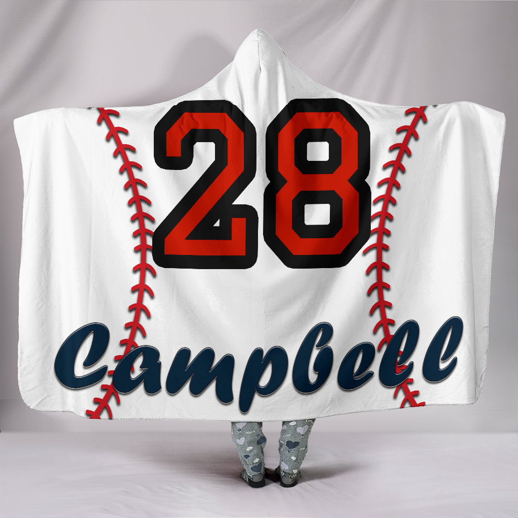 draft personalized hooded blanket 5173