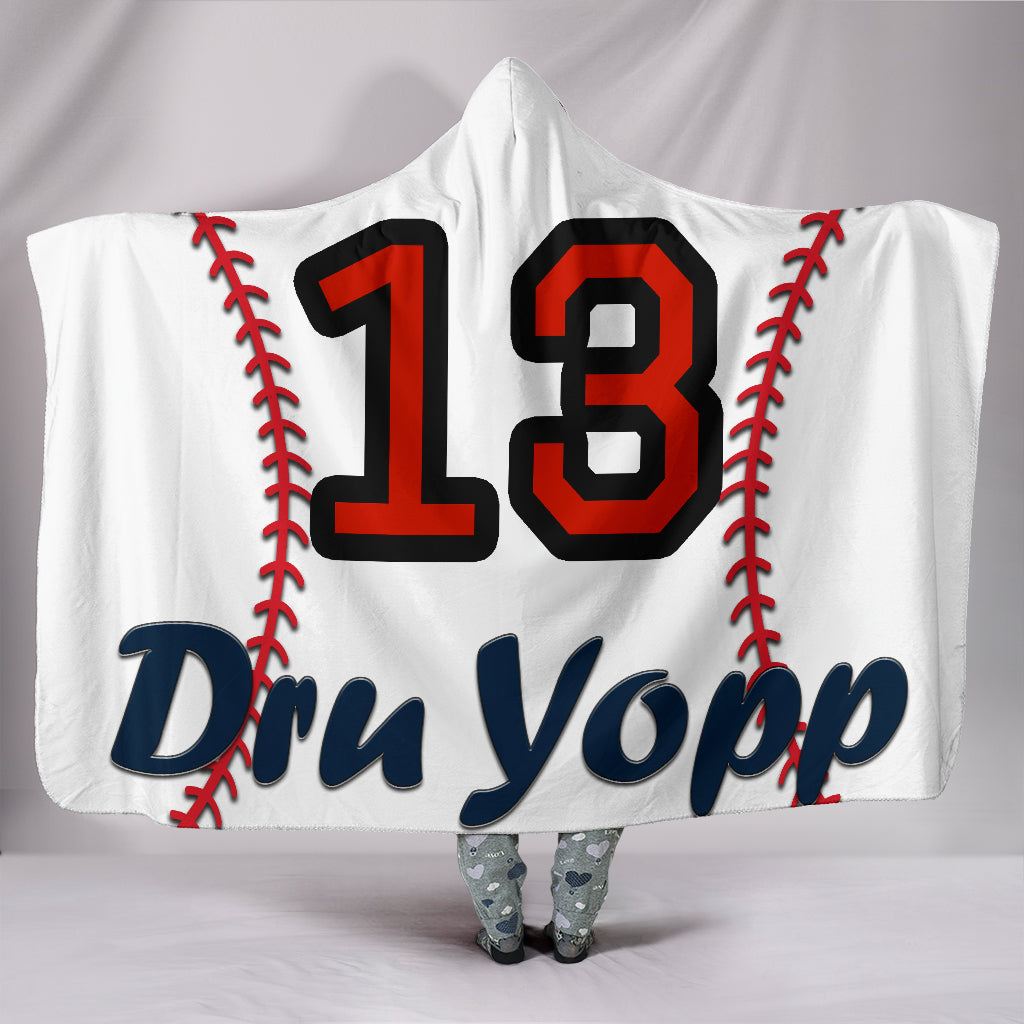 draft personalized hooded blanket 4602