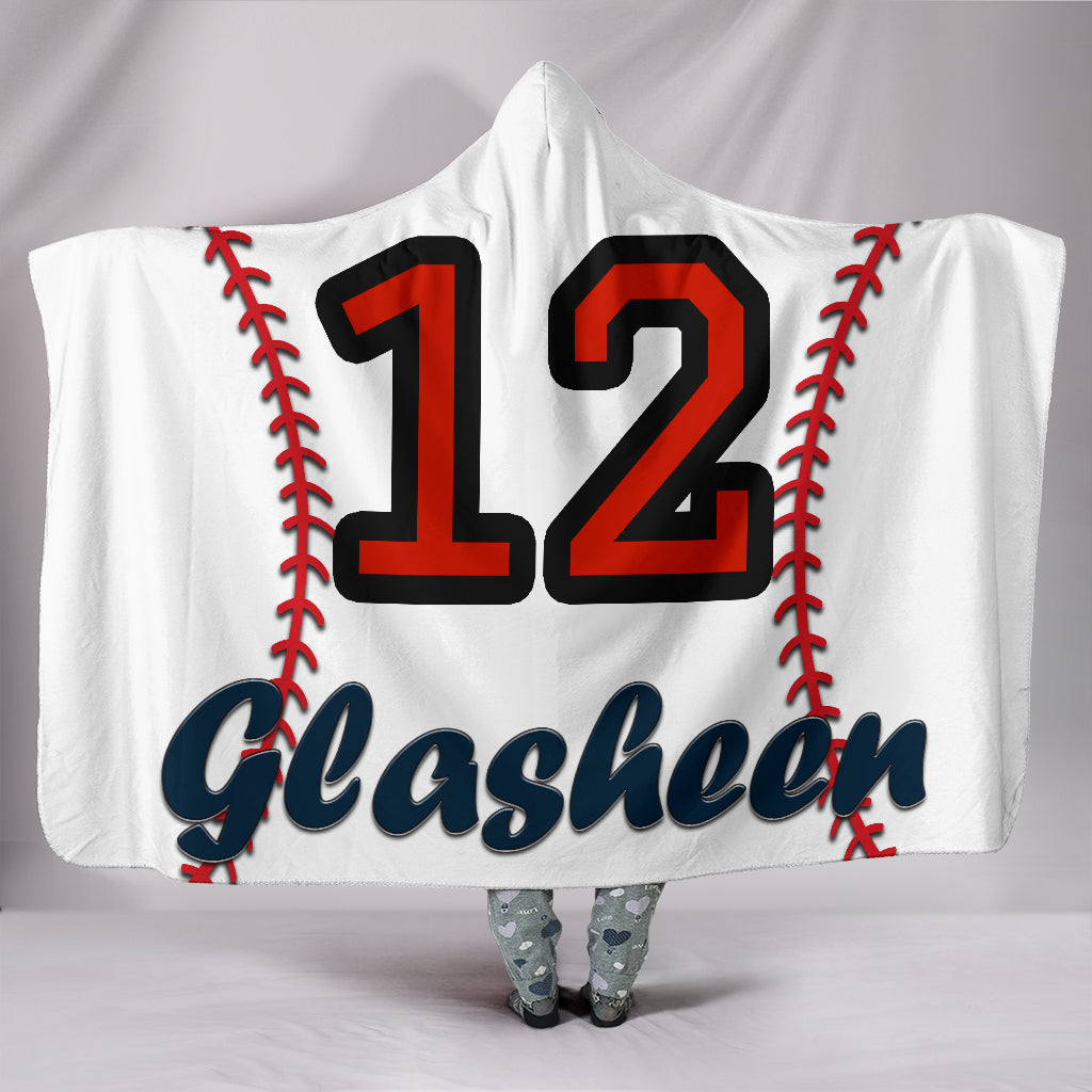draft personalized hooded blanket 4789