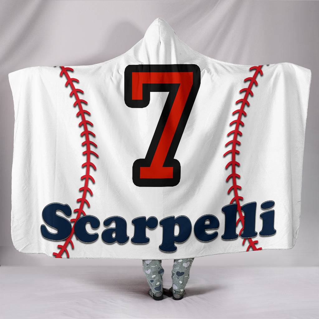 draft personalized hooded blanket 5741