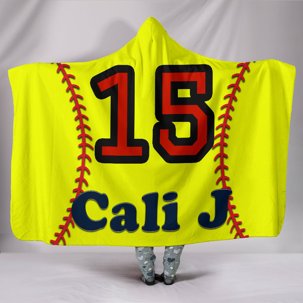 draft personalized hooded blanket 5613
