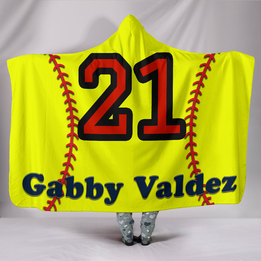 draft personalized hooded blanket 6181