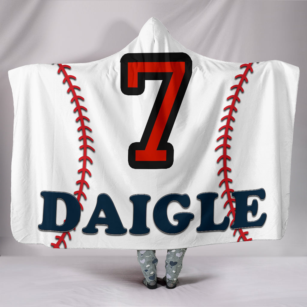 draft personalized hooded blanket 6530
