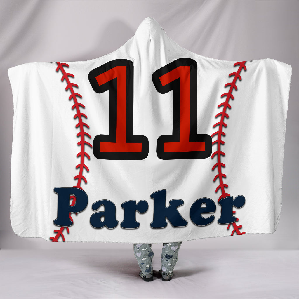 draft personalized hooded blanket 5540