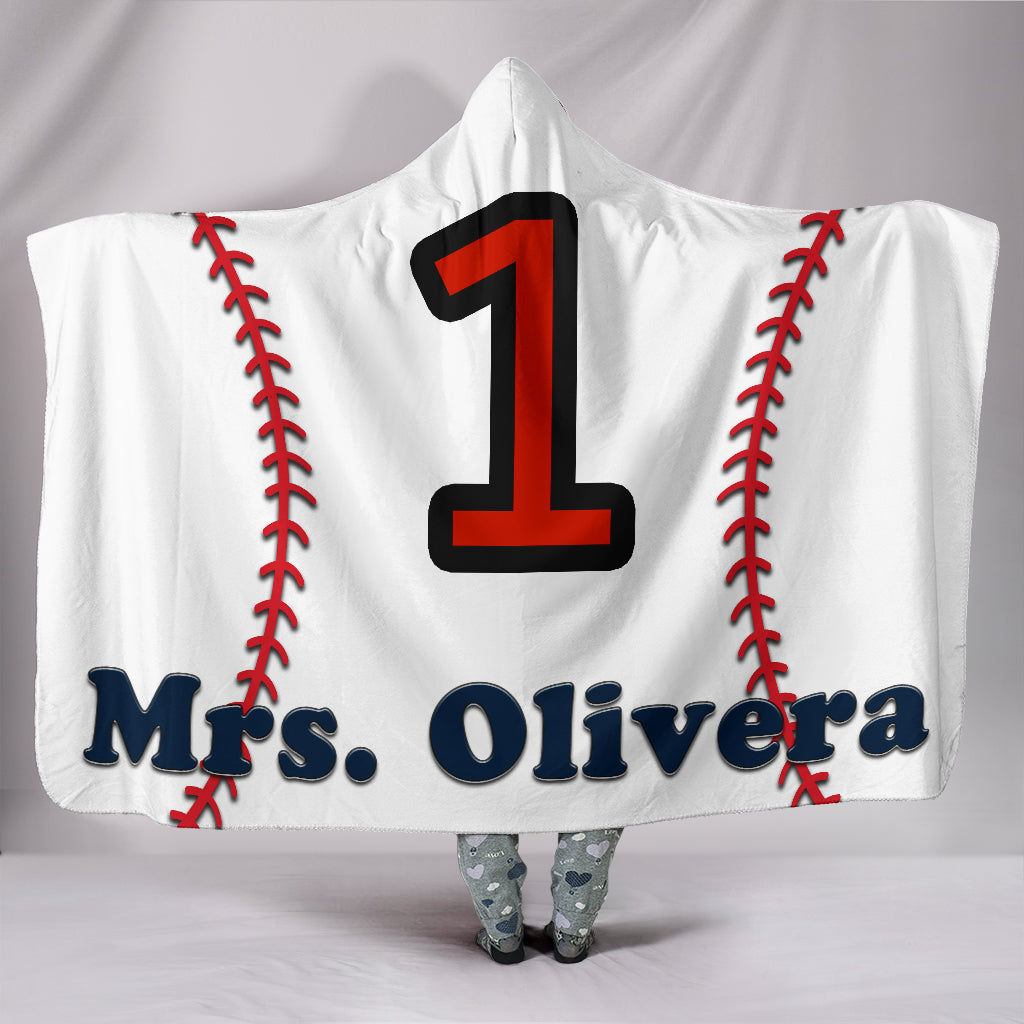 draft personalized hooded blanket 6128