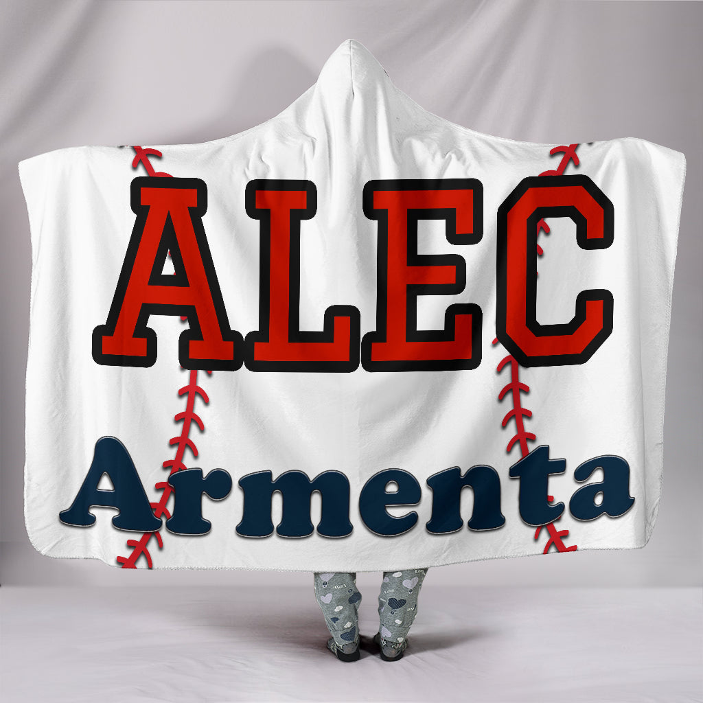 draft personalized hooded blanket 6423