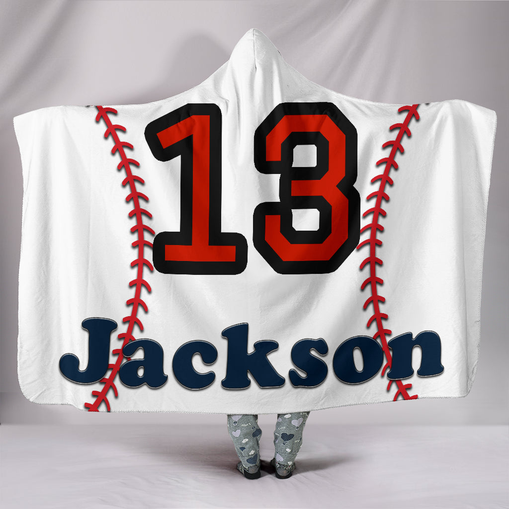 draft personalized hooded blanket 5785