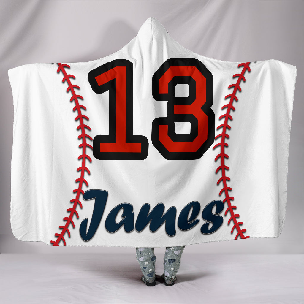 draft personalized hooded blanket 5191