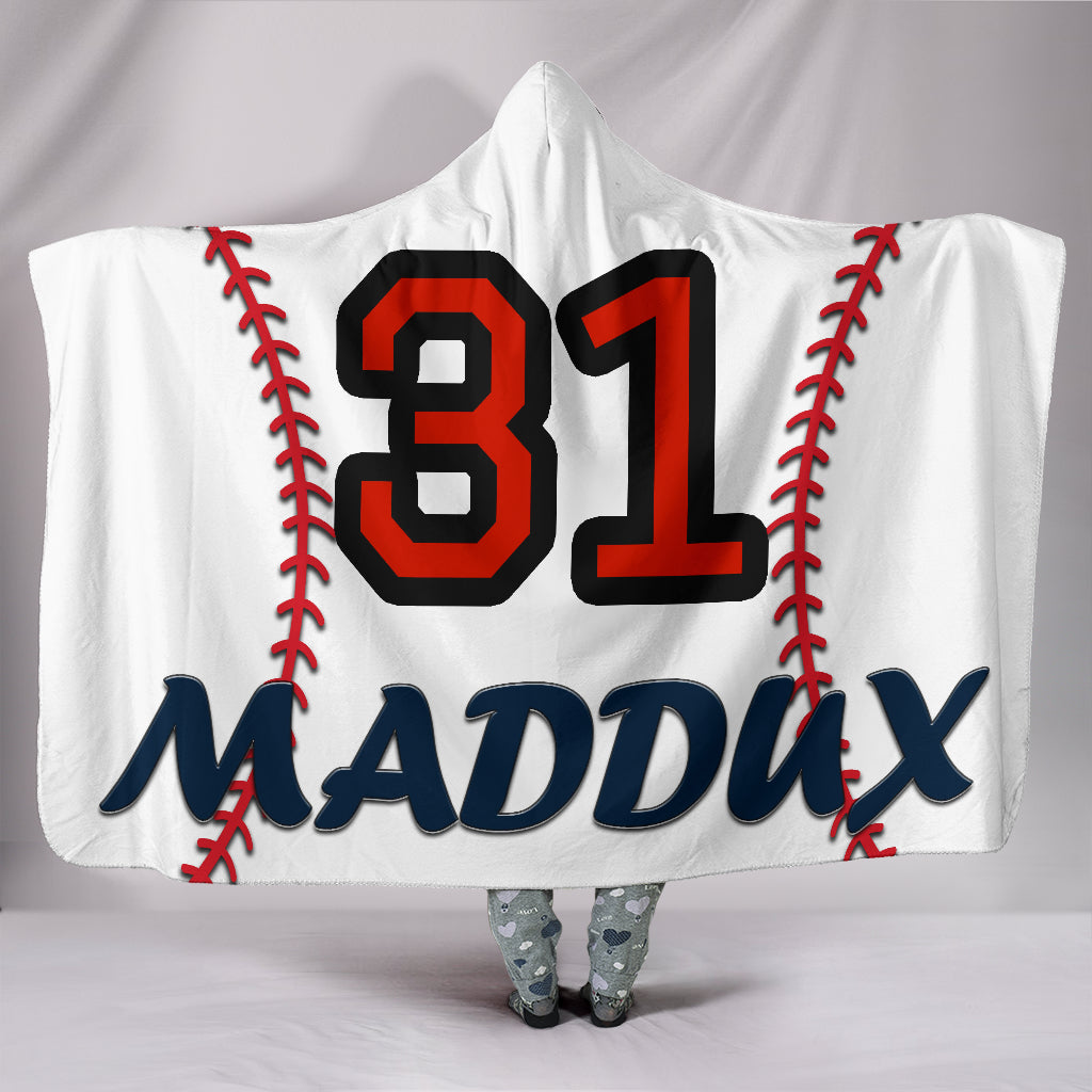 draft personalized hooded blanket 4385