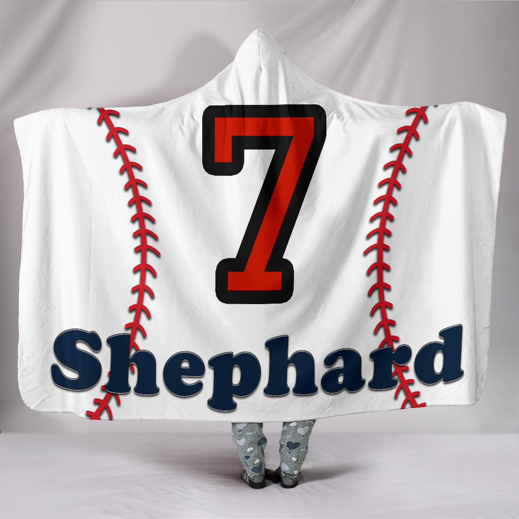 draft personalized hooded blanket 5734