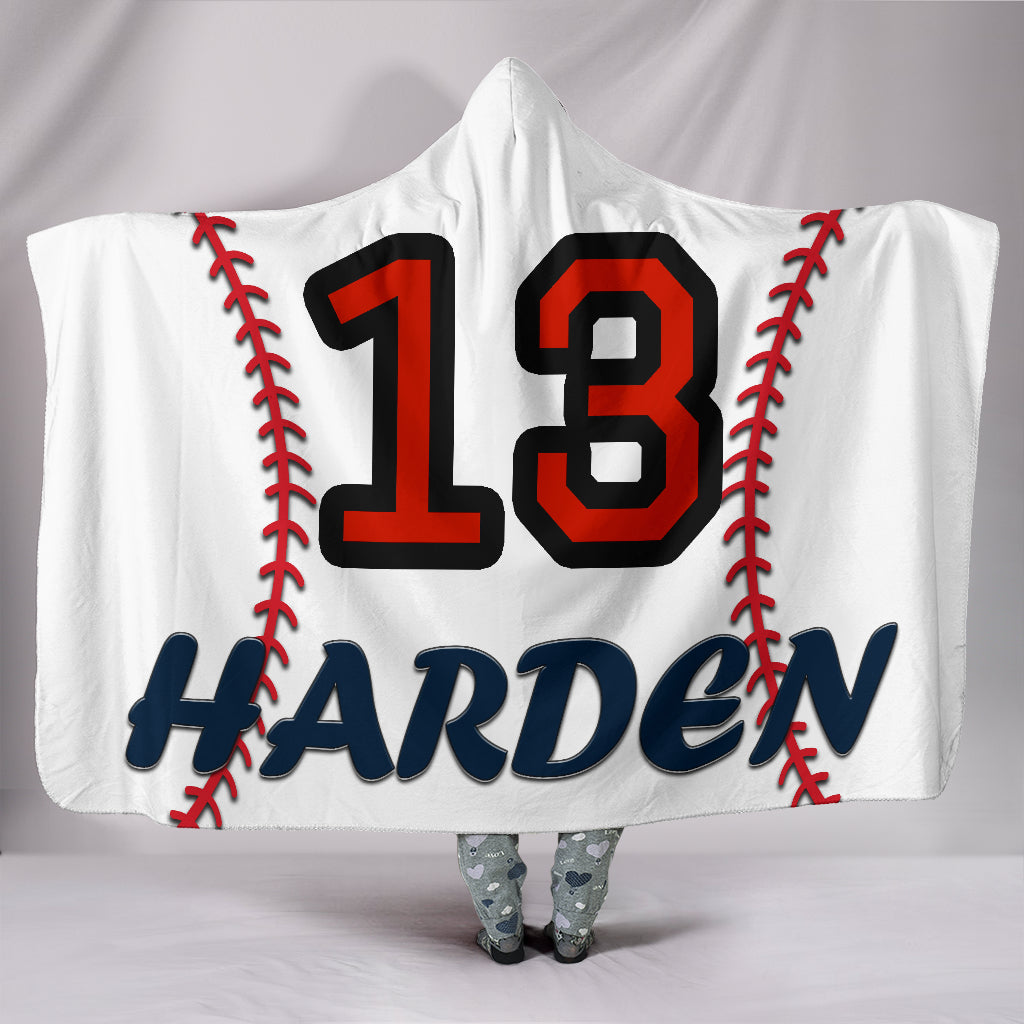 draft personalized hooded blanket 4448