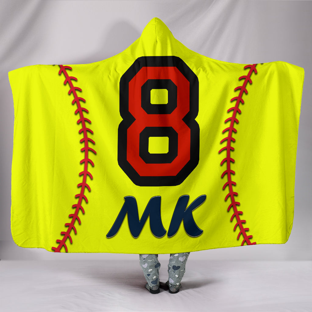 draft personalized hooded blanket 4477