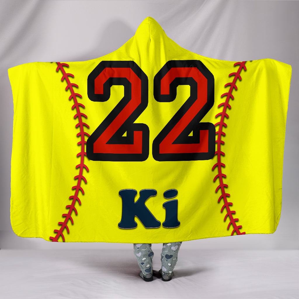 draft personalized hooded blanket 6455