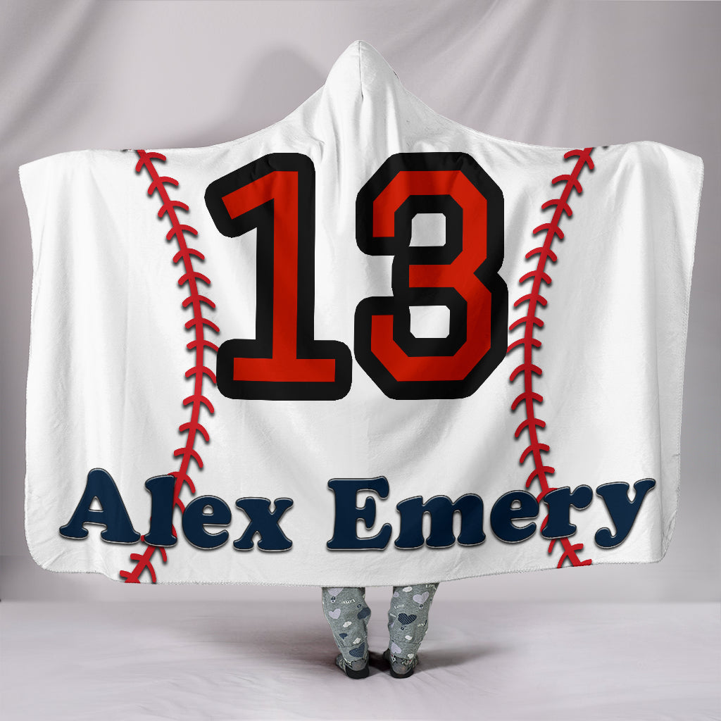 draft personalized hooded blanket 5504