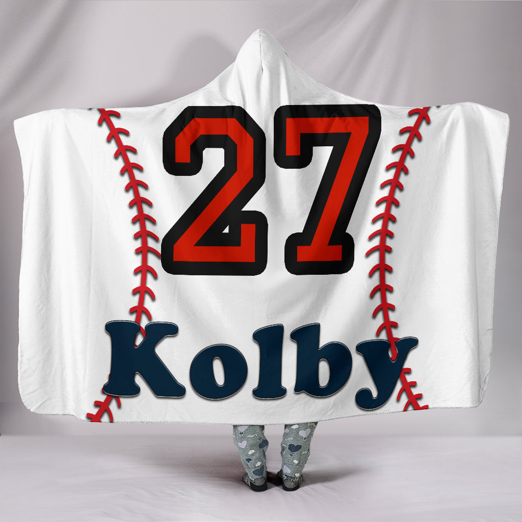 draft personalized hooded blanket 5157