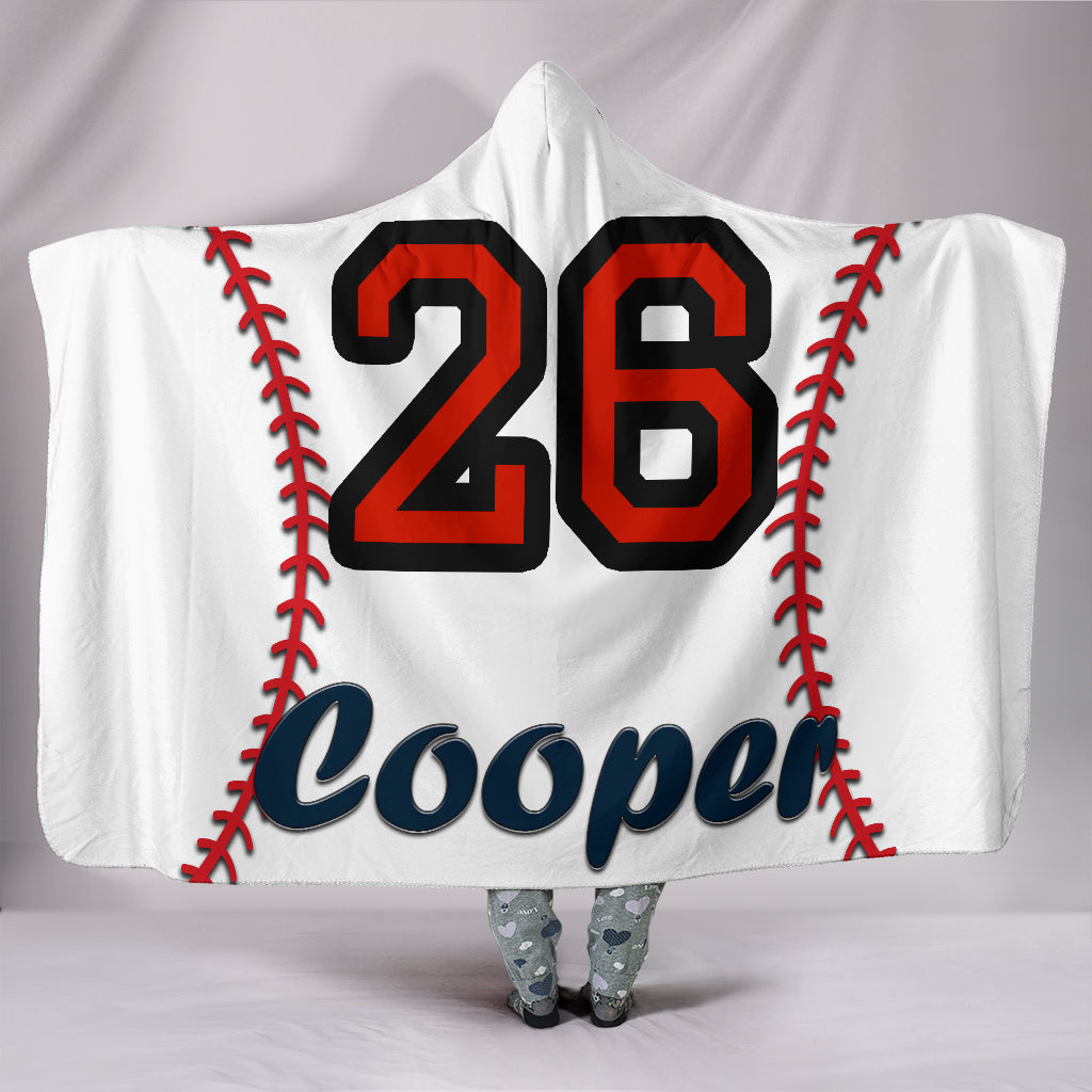draft personalized hooded blanket 4957
