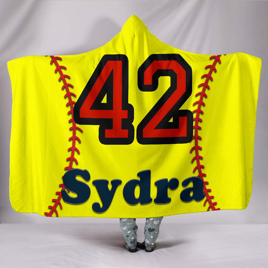 draft personalized hooded blanket 6785