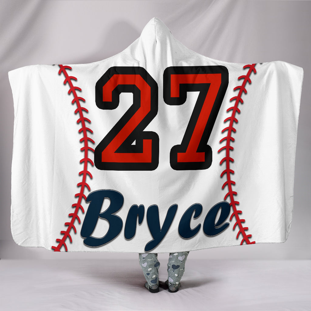 draft personalized hooded blanket 4612