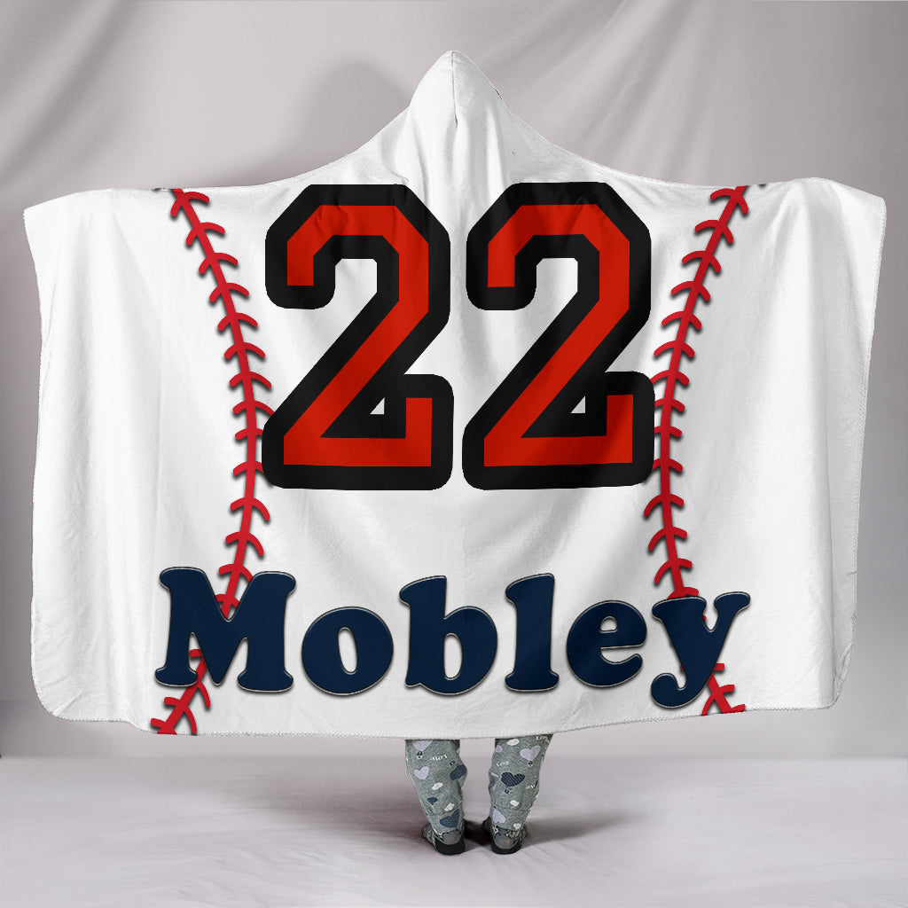draft personalized hooded blanket 6278