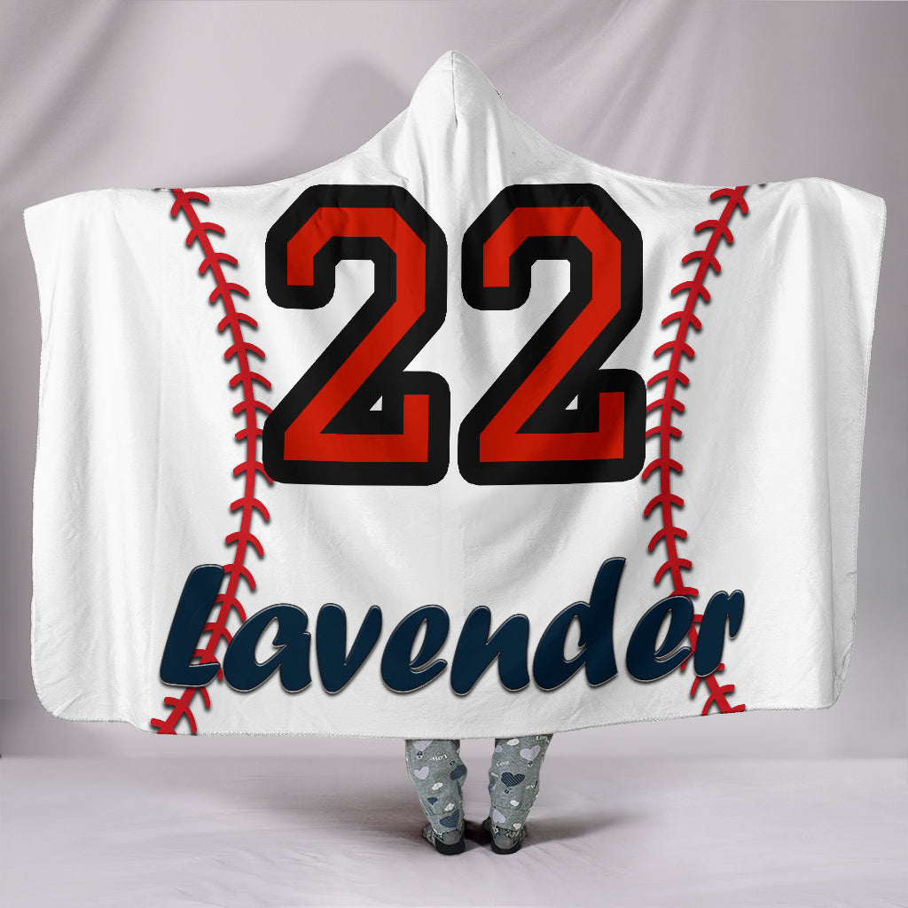 draft personalized hooded blanket 5134