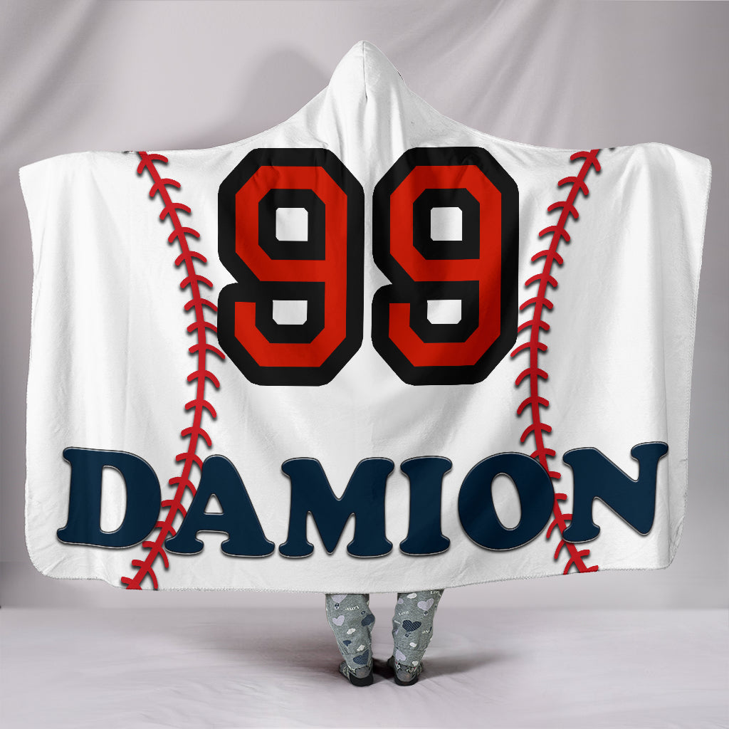draft personalized hooded blanket 5155