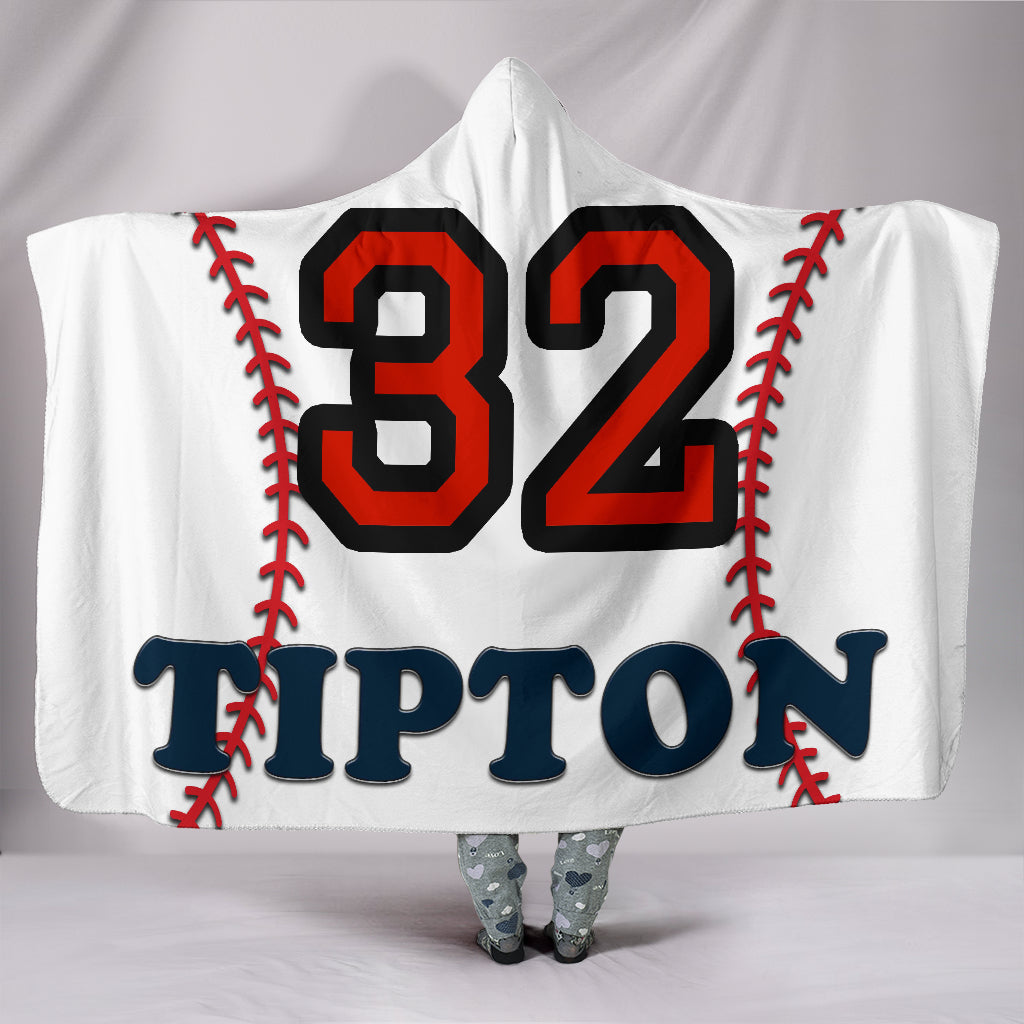 draft personalized hooded blanket 6703