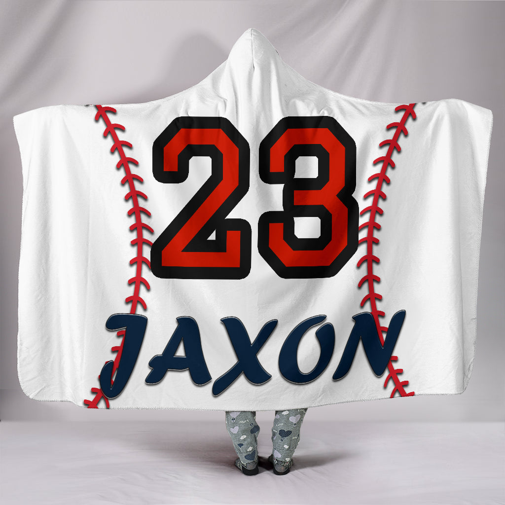 draft personalized hooded blanket 4523