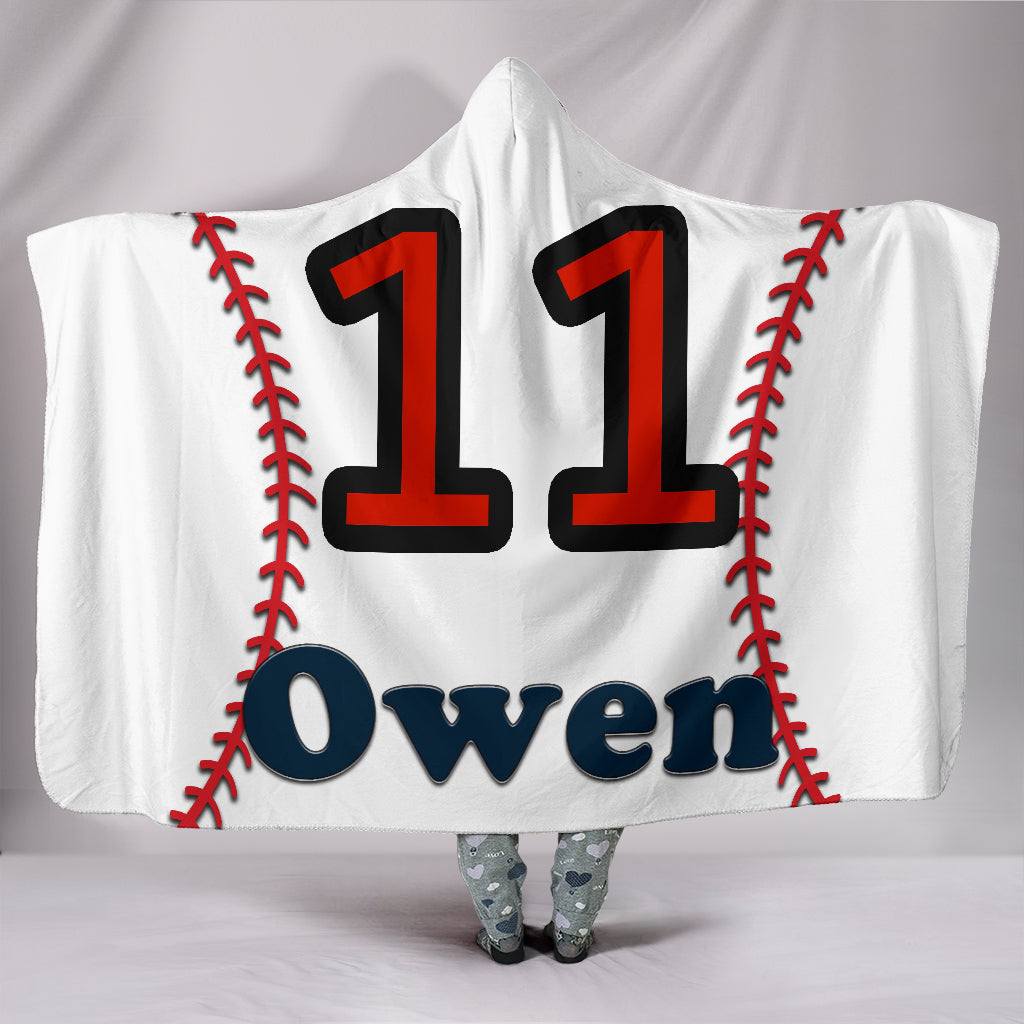 draft personalized hooded blanket 6796
