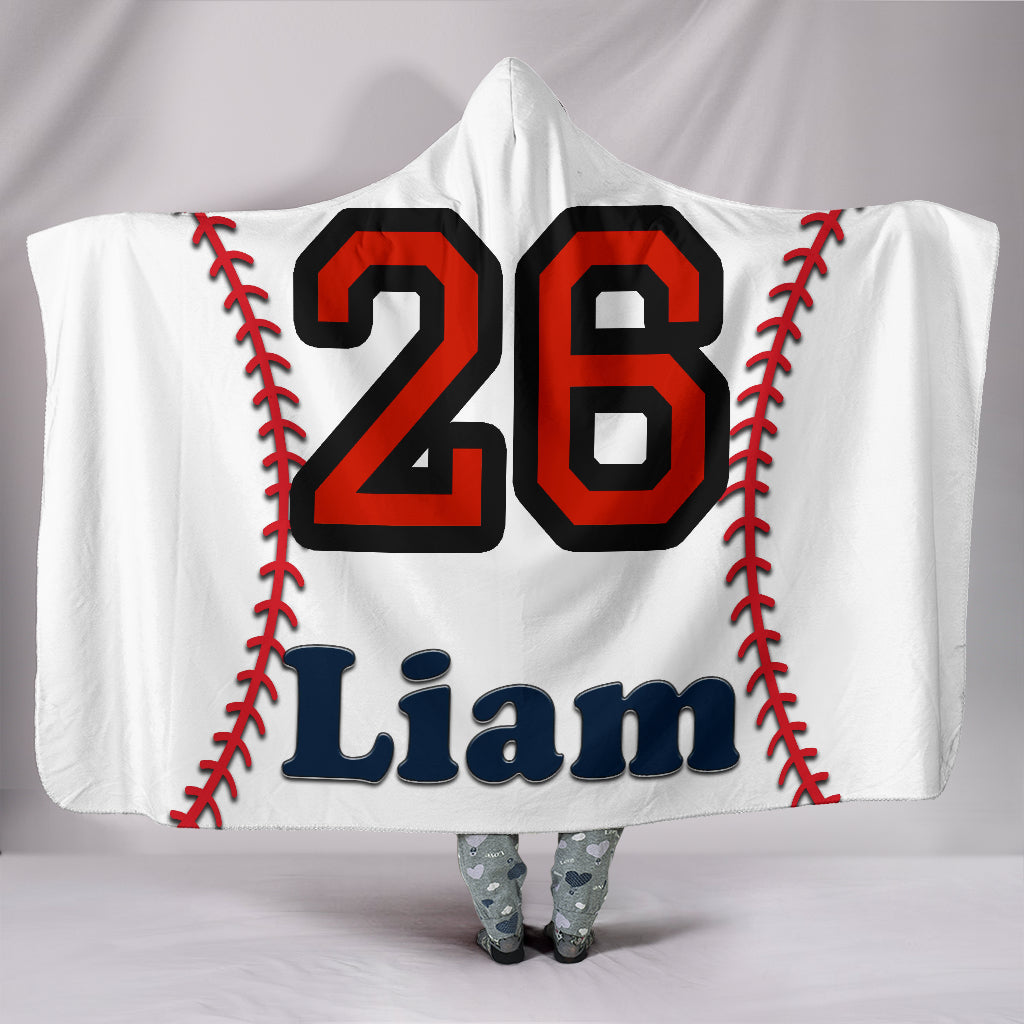draft personalized hooded blanket 5599
