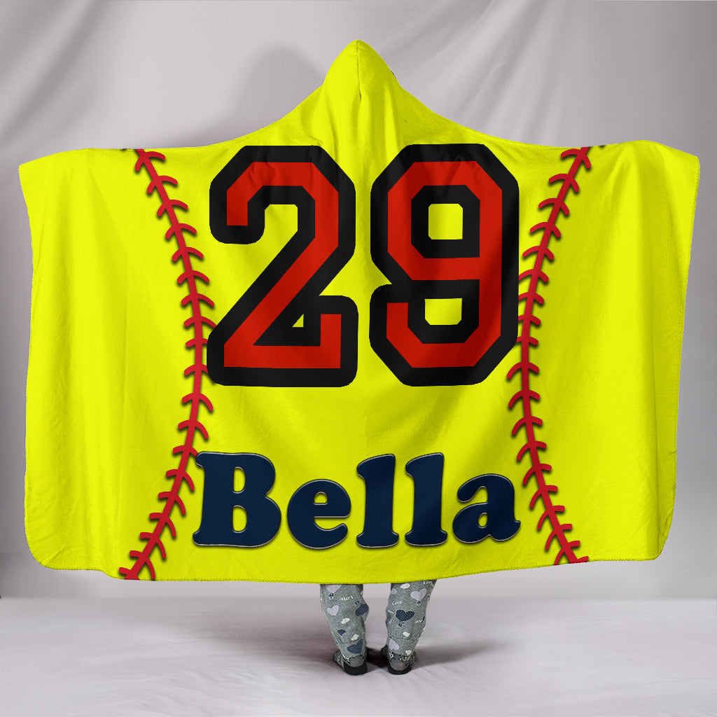 draft personalized hooded blanket 5885