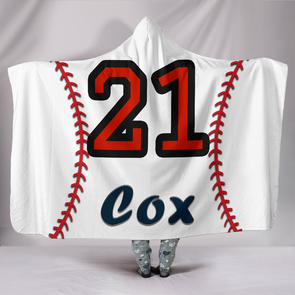draft personalized hooded blanket 5139