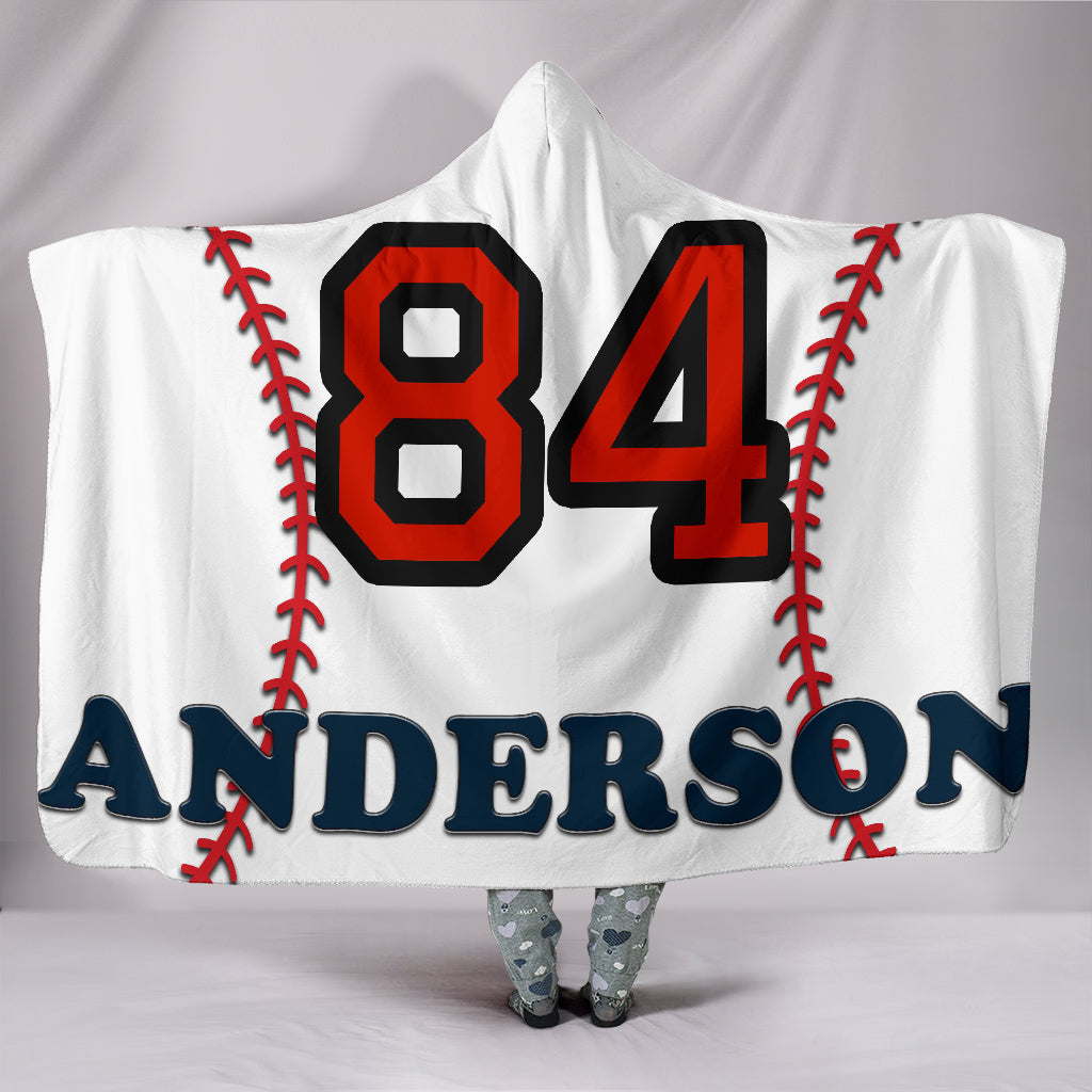draft personalized hooded blanket 6617