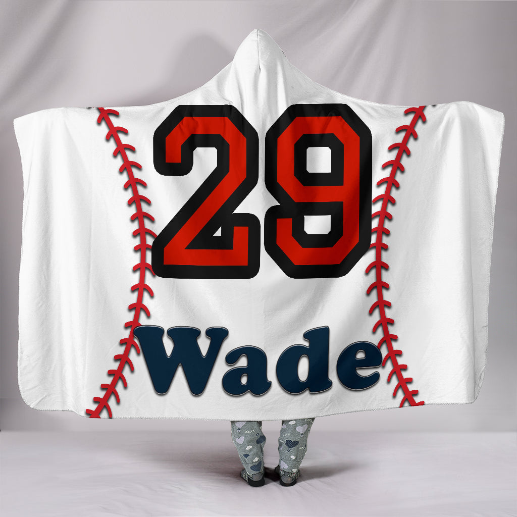 draft personalized hooded blanket 6470