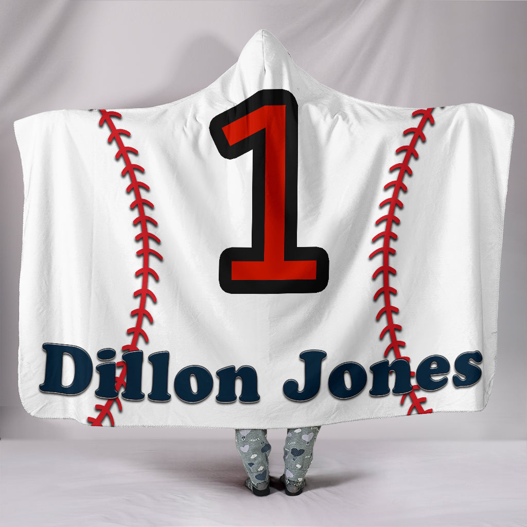 draft personalized hooded blanket 6625