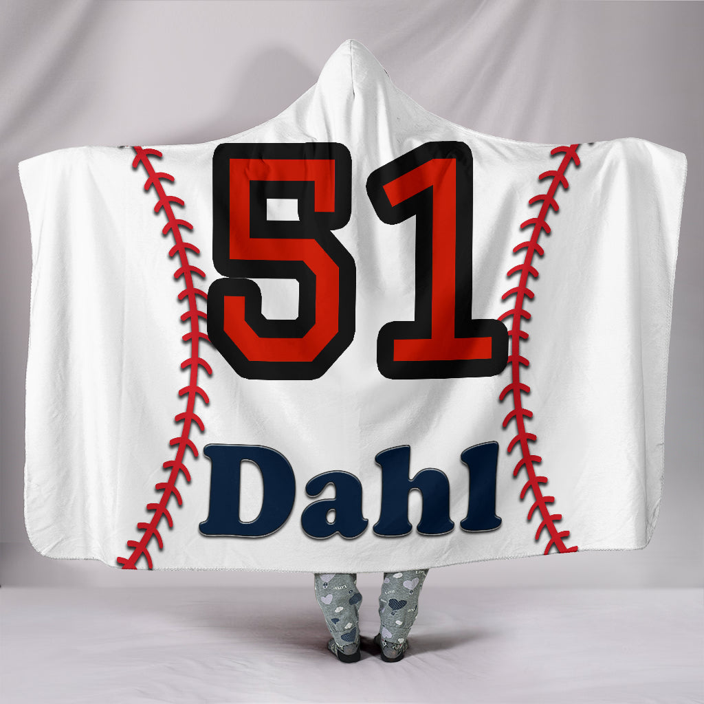 draft personalized hooded blanket 6055