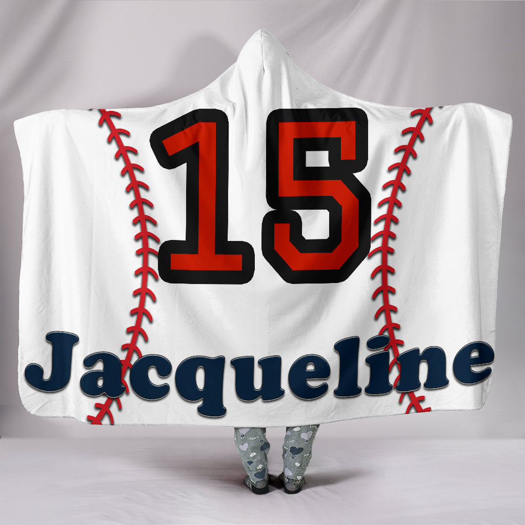 draft personalized hooded blanket 5442