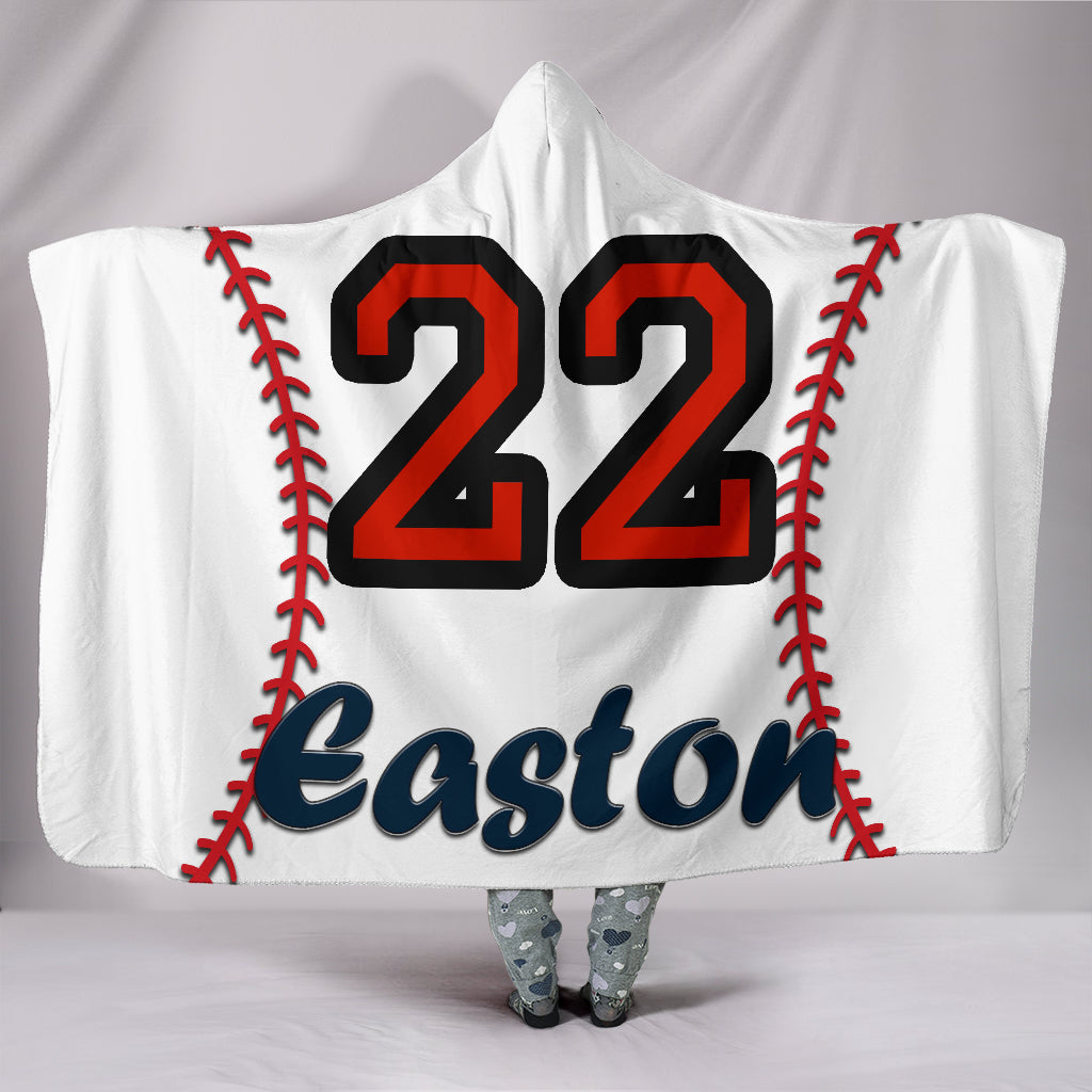 draft personalized hooded blanket 5103