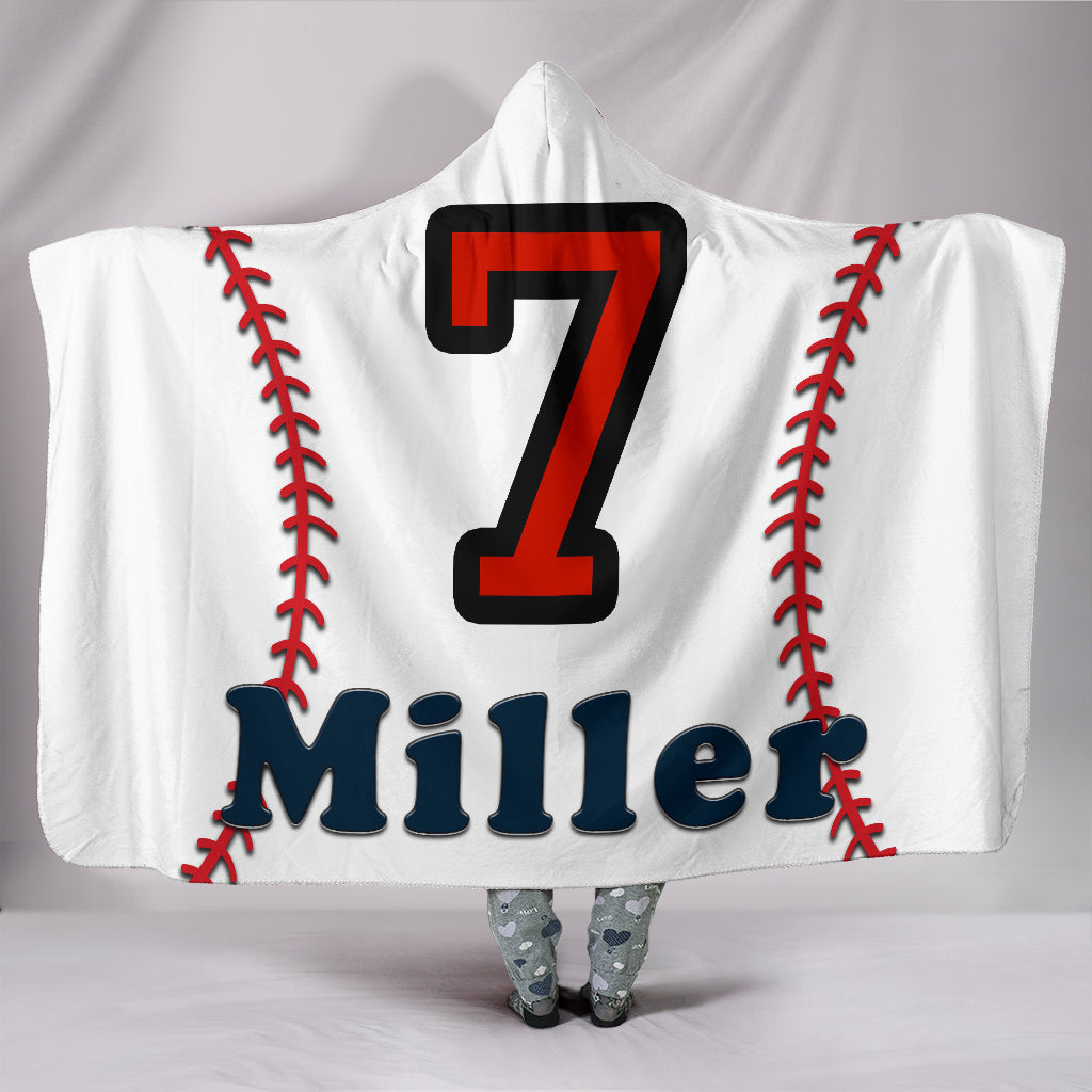 draft personalized hooded blanket 6607