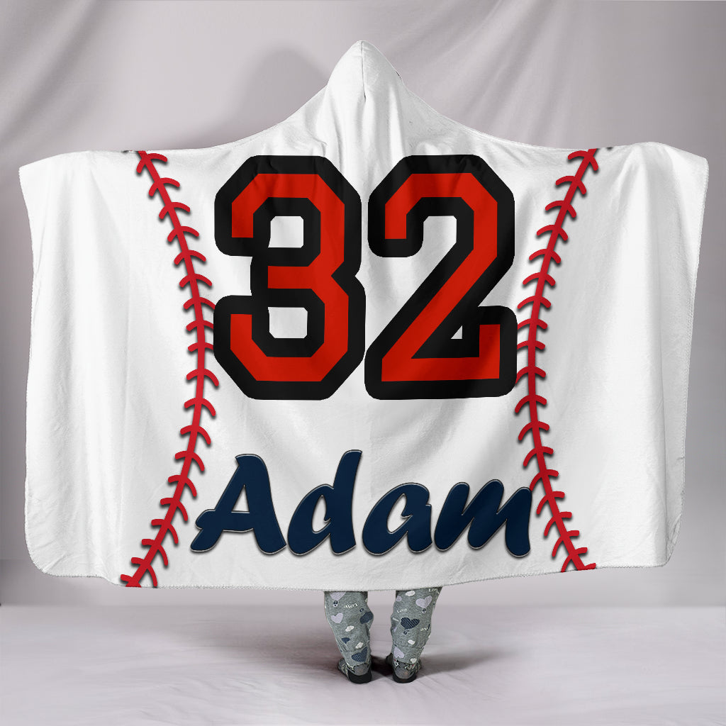draft personalized hooded blanket 5348