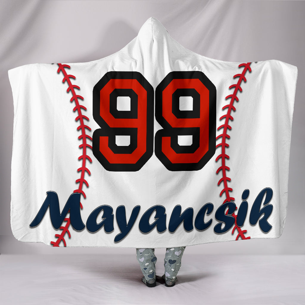 draft personalized hooded blanket 4290
