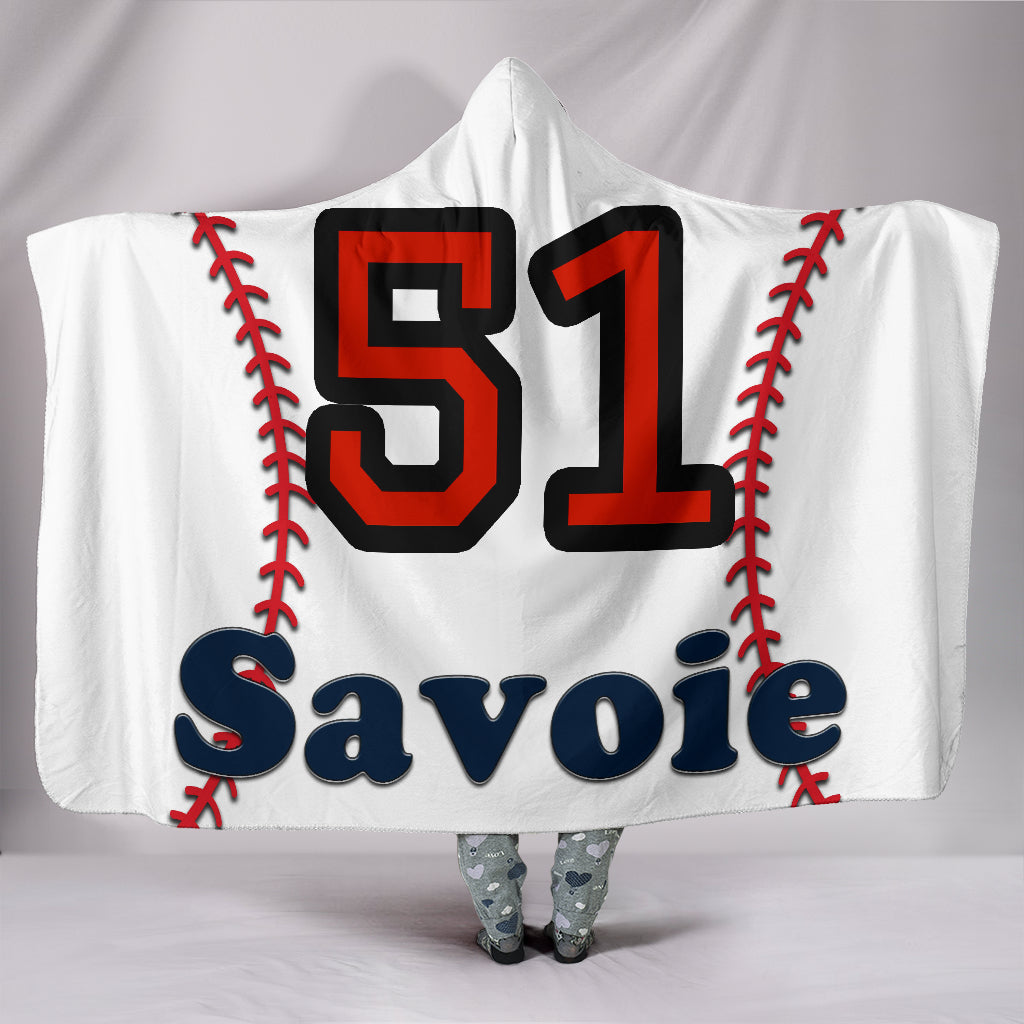 draft personalized hooded blanket 6207
