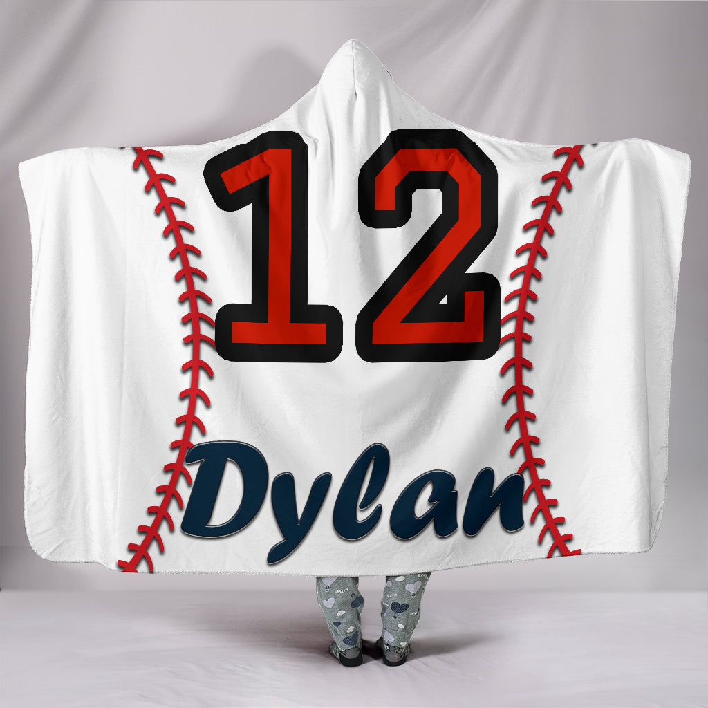 draft personalized hooded blanket 5165
